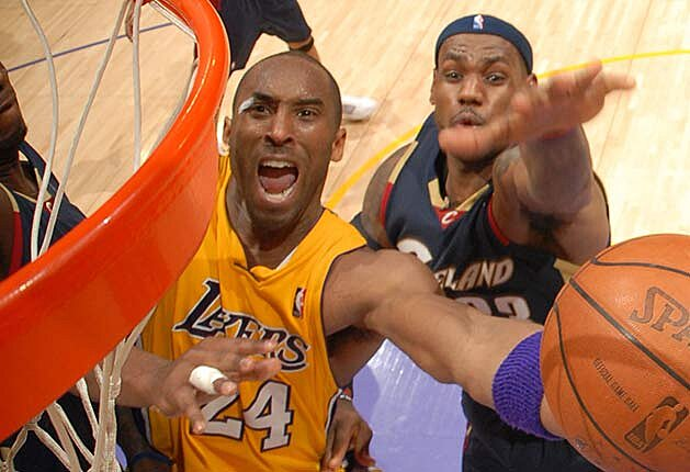 1fb50fa9d5a Kobe Bryant vs. LeBron James  NBA rivalry that never was