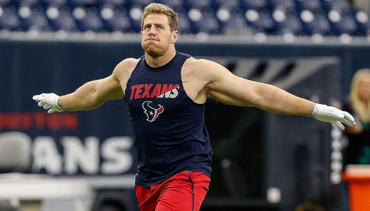 J J  Watt of Houston Texans talks injury, NFL future