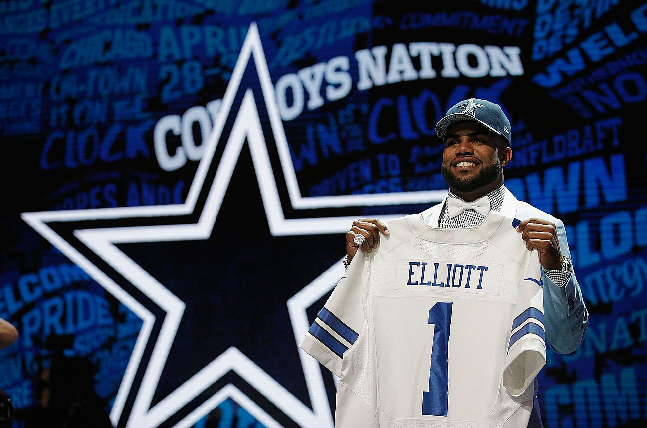 577ed716 2016 NFL Draft: Dallas Cowboys' Jerry Jones inside draft war room   SI.com