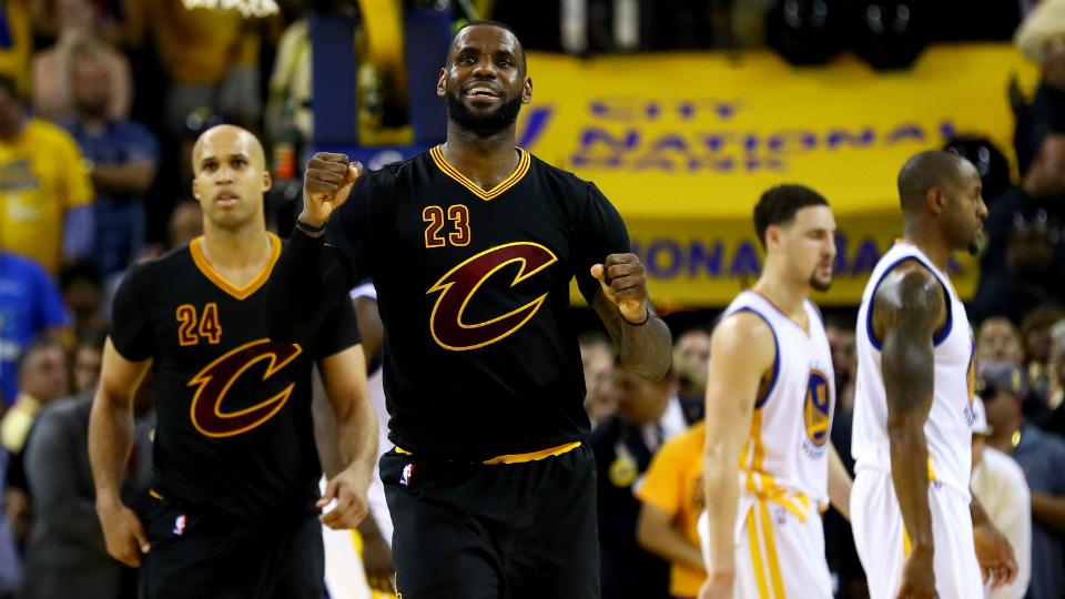NBA Finals MVP: LeBron James of Cavs wins award | SI.com