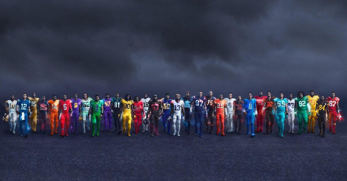 NFL color rush uniforms  Ranking best 3182f2de1
