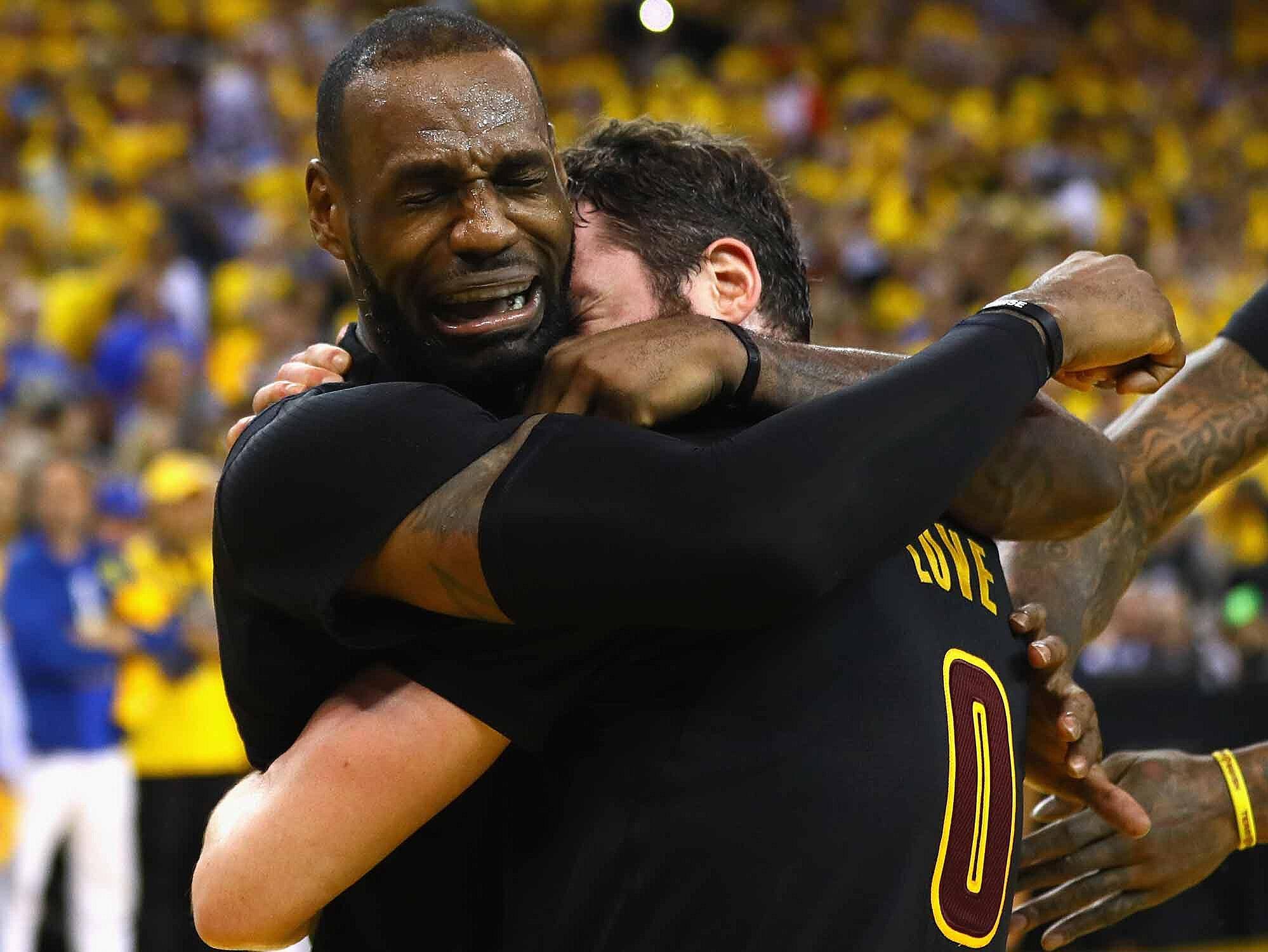 cbd0008b4b33 Kevin Love s NBA Finals Stop Wasn t His Biggest Ever