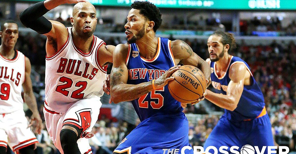 Knicks' Derrick Rose, Joakim Noah beat Bulls in Chicago ...