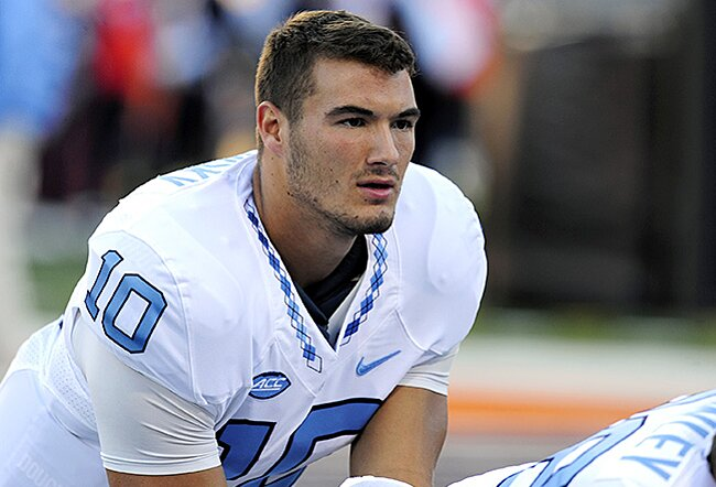 6b487e8ba67 North Carolina QB Mitch Trubisky: Top QB in 2017 Draft | SI.com