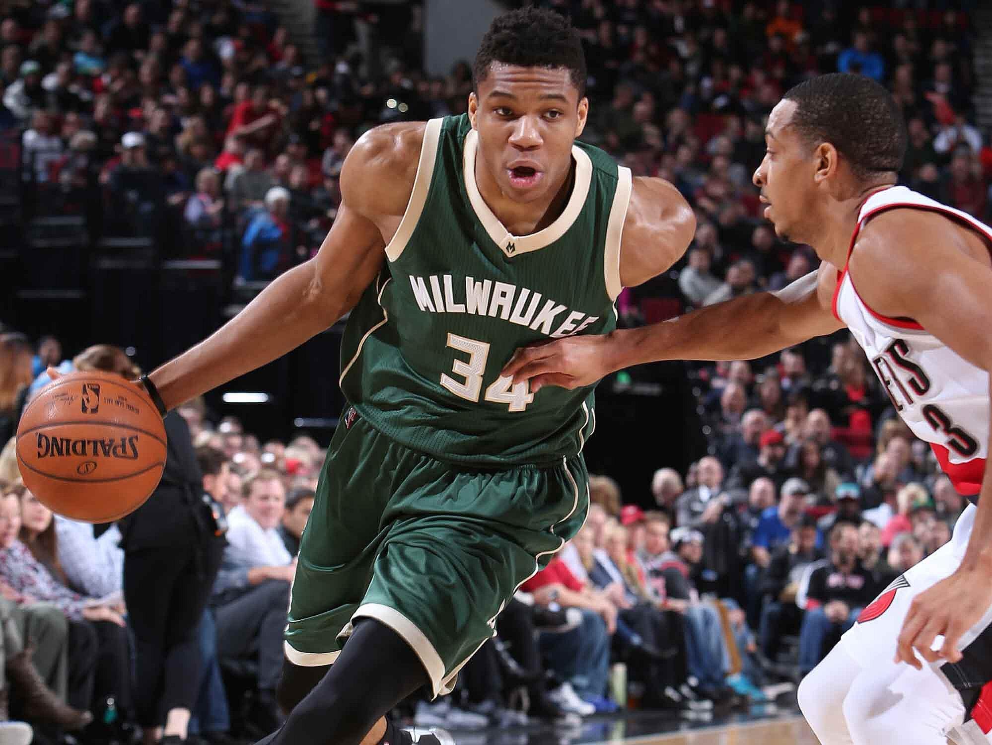 f8b75a67e9c Giannis Antetokounmpo: Bucks Unleash The Greek Freak | SI.com