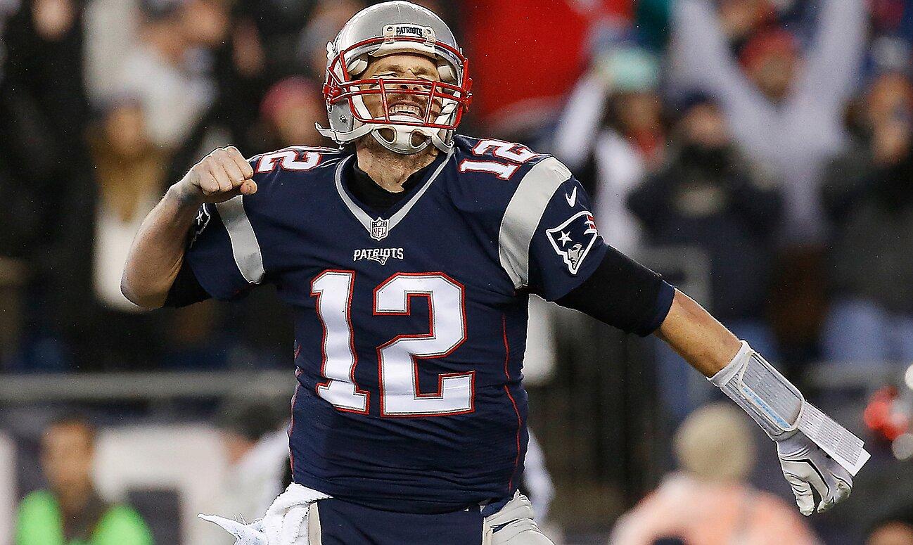 b5885550b72 Super Bowl 51: Matt Ryan's Falcons vs. Tom Brady's Pats   SI.com