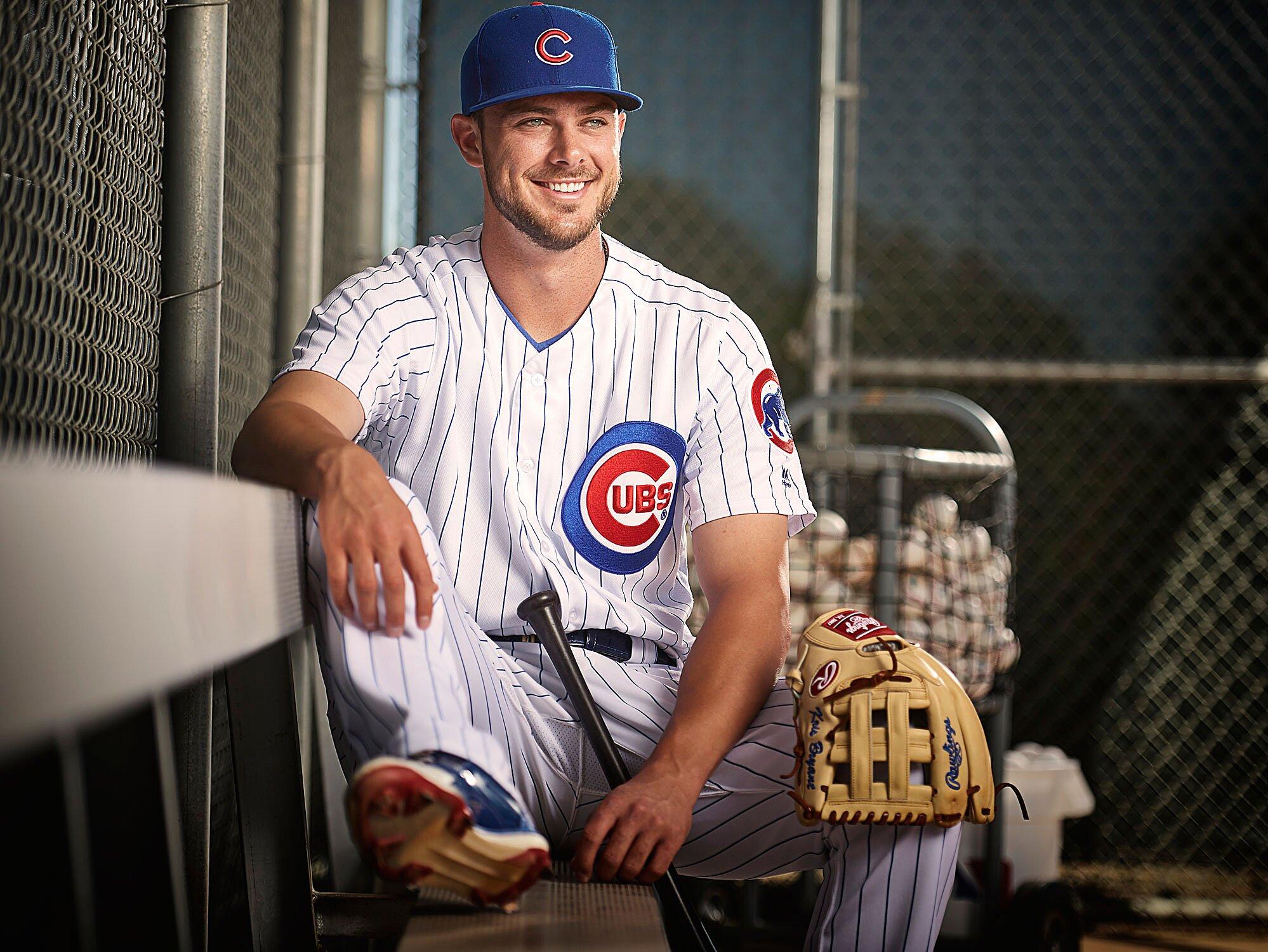 promo code cd75c 9359c Kris Bryant: The charmed life of the Cubs' MVP-winning hero ...
