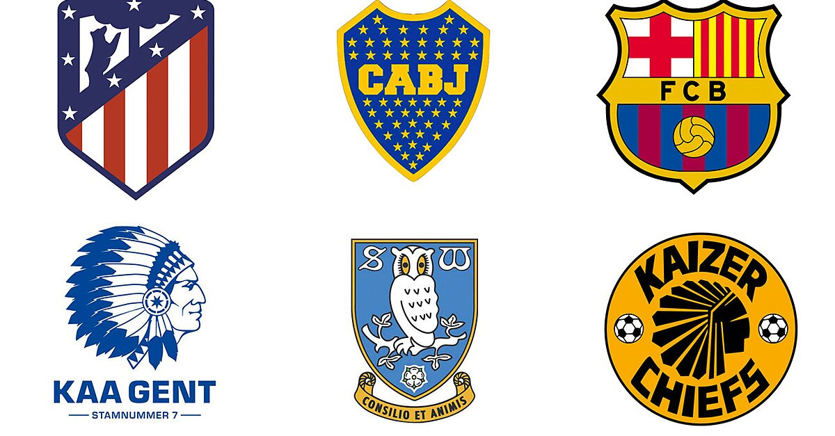 5479d07ac77 Hidden explanations for soccer clubs  crests around the world