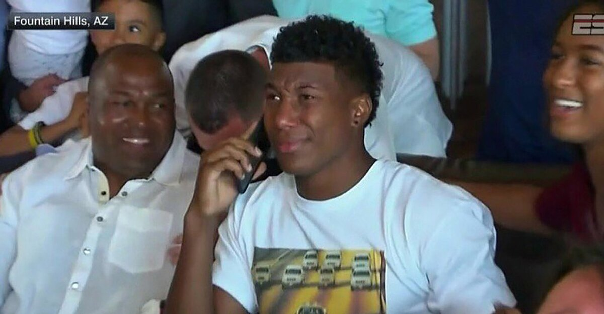 new style 64308 3f1d8 Zay Jones drafted by Bills while wearing OJ Simpson chase ...
