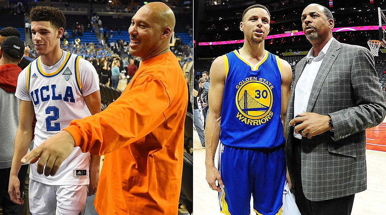 db95685d8dbe NBA Draft  Stephen Curry s Dad Pulled The Same Move As LaVar Ball ...