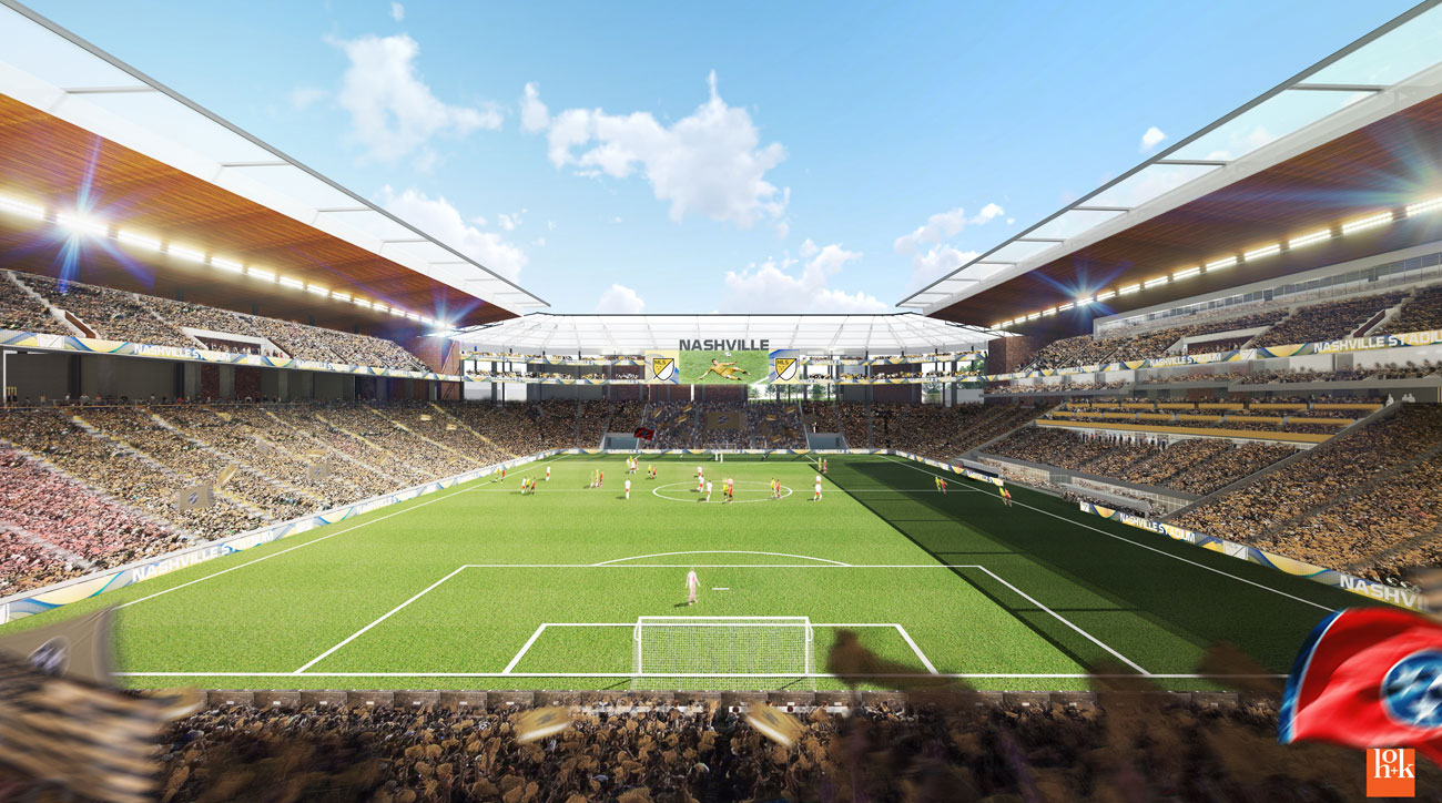 MLS grants Nashville bid on expansion team!