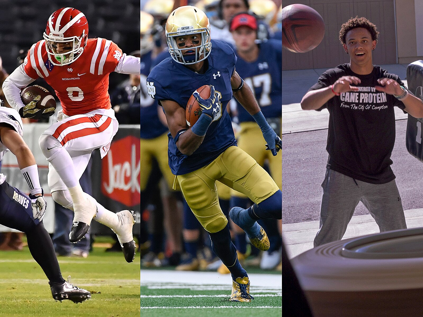 new products a9e61 c8216 Equanimeous St. Brown and brothers are CFB's Ball family ...