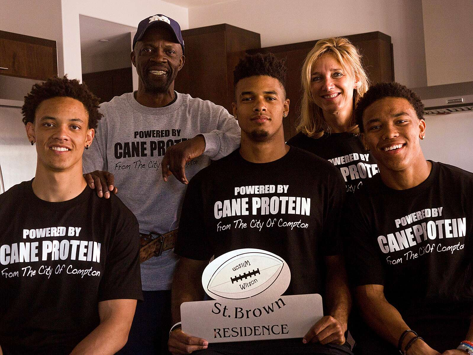 Equanimeous St  Brown and brothers are CFB's Ball family