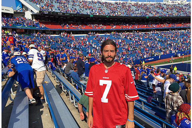los angeles 0892b 8ed2b I Wore a Colin Kaepernick Jersey to an NFL Game | SI.com