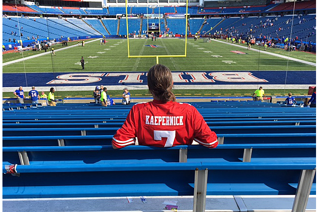 los angeles 7dd23 3450f I Wore a Colin Kaepernick Jersey to an NFL Game | SI.com
