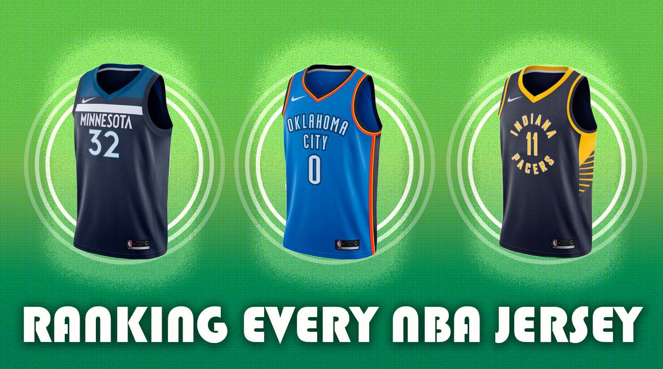 Nba Jerseys Ranking Every Team S New Uniforms Si Com