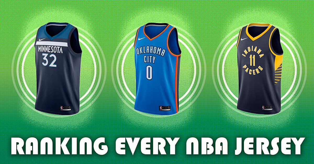quality design 80af5 ffdc8 NBA Jerseys  Ranking Every Team s New Uniforms   SI.com