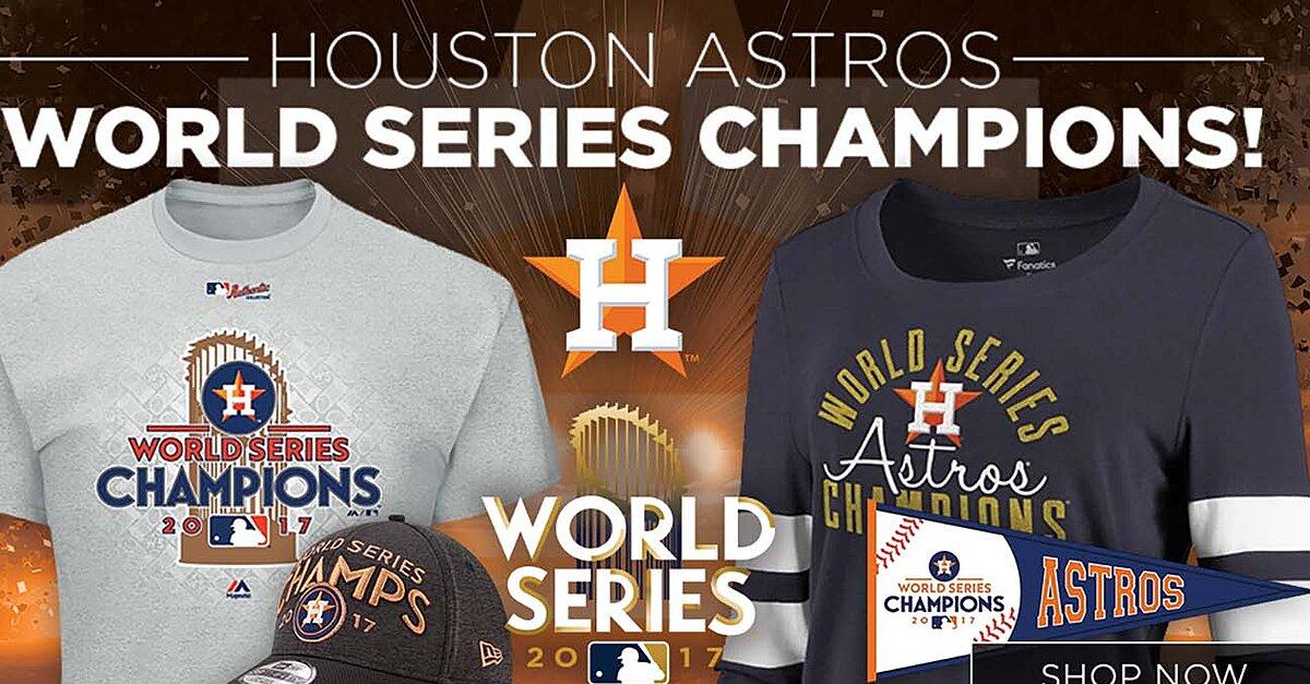 superior quality d249d 91202 Houston Astros MLB World Series champions gear, shirts | SI.com