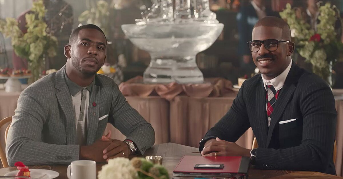 8cfacc6b5e58 Chris Paul Says Bye to Cliff Paul in New State Farm Spot
