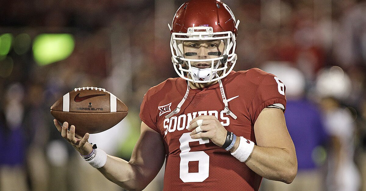 Baker Mayfield First Round 2018 Nfl Draft Pick