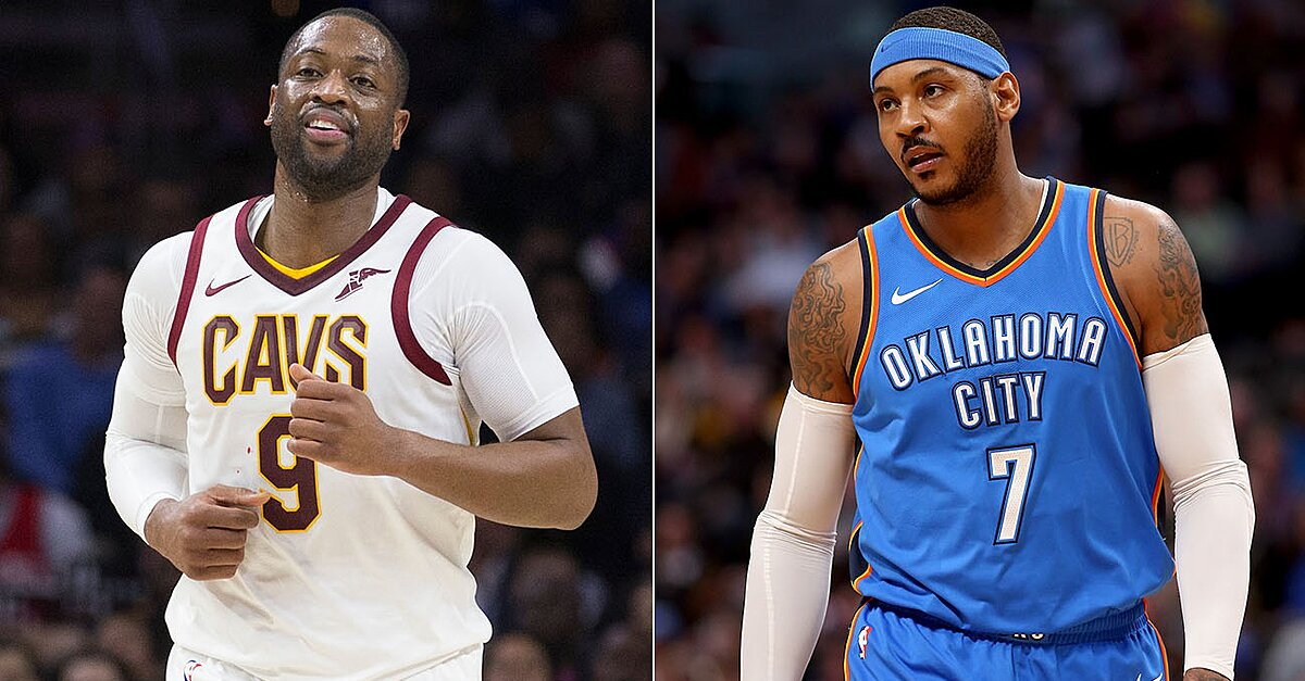 Dwyane Wade, Carmelo Anthony and the NBA's Aging ...