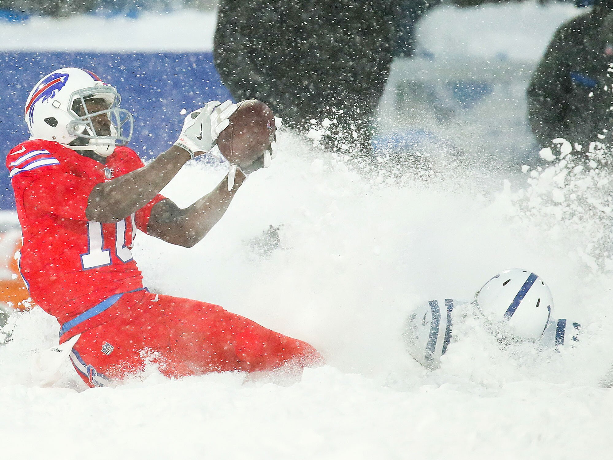 4cf4dcba Bills-Colts Snow Game: Behind the scenes of broadcast with CBS | SI.com
