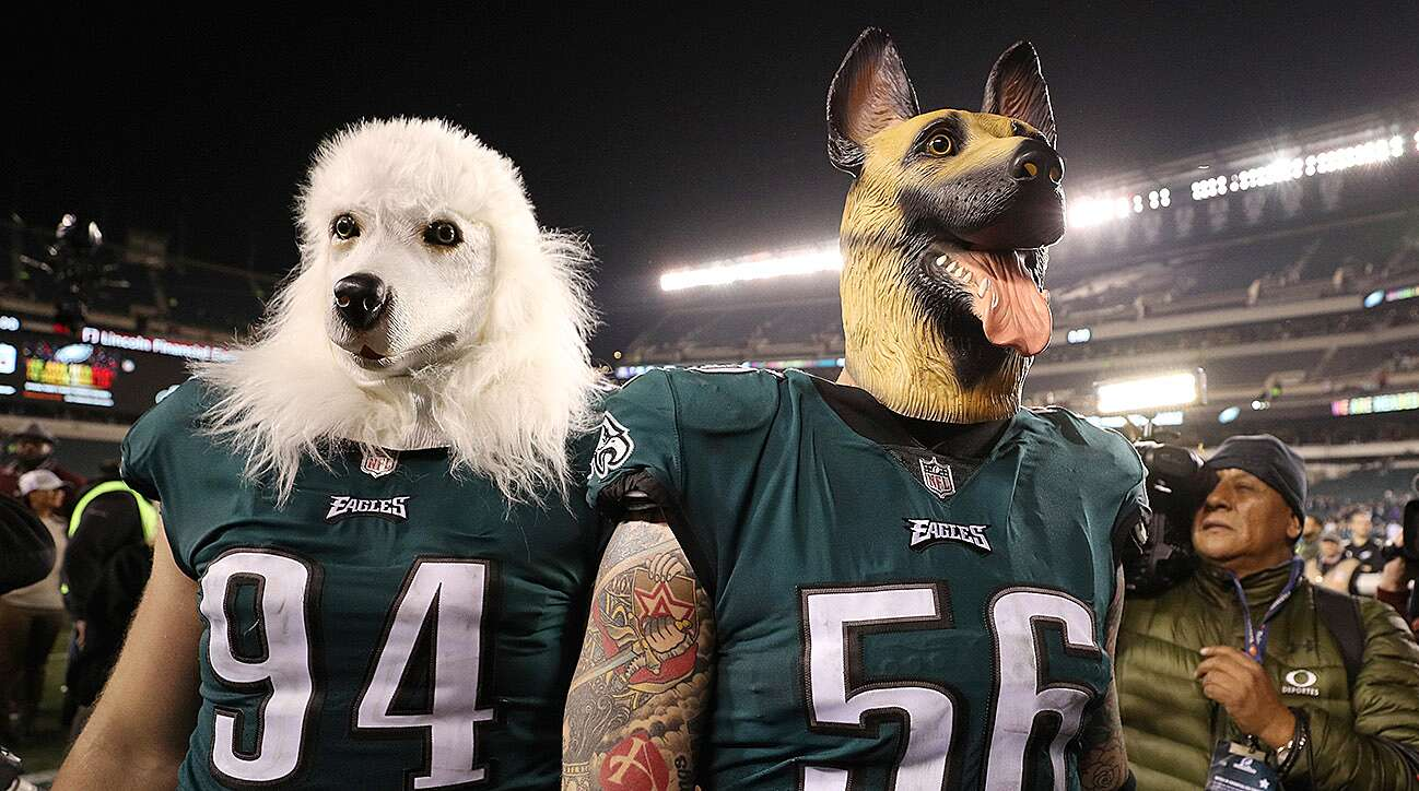 separation shoes 897d5 6ed2f Philadelphia Eagles Dog Masks: Chinese Mask Company | SI.com