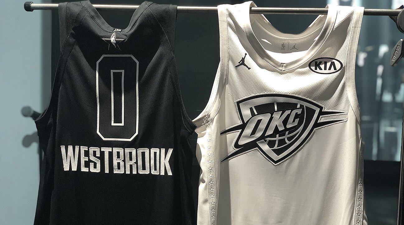 ed4e429bfb8 NBA All-Star Jerseys: Jordan Execs Defend Black-and-White Design | SI.com