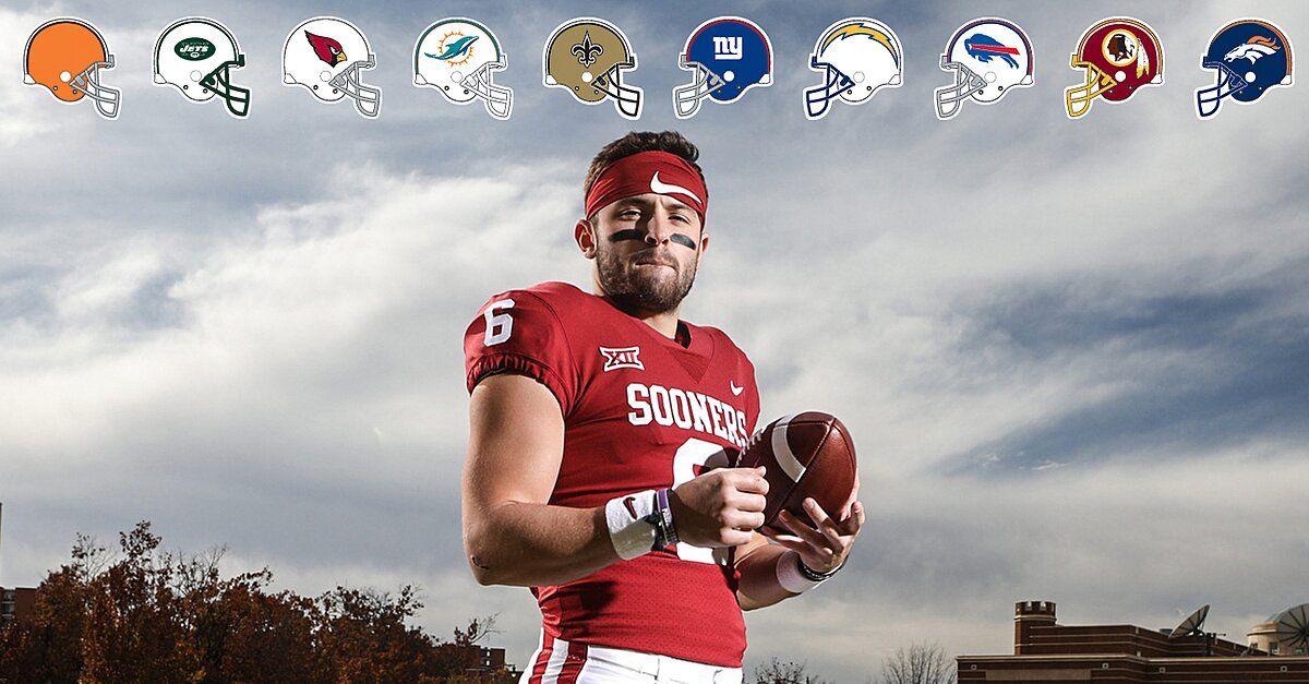 Baker Mayfield Teams Interested In Qb For Nfl Draft