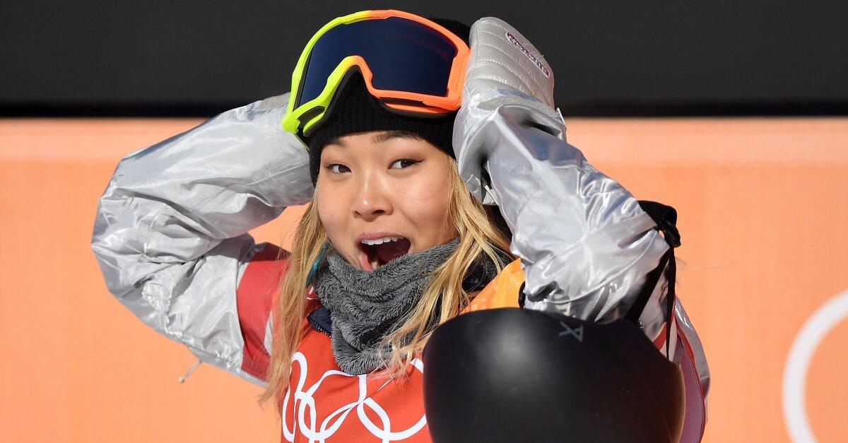 USA's Chloe Kim Wins Gold Medal in Halfpipe