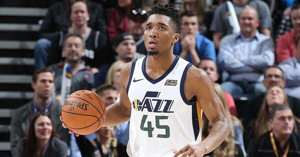 Donovan Mitchell Q&A: The Streaking Jazz, All-Star Weekend