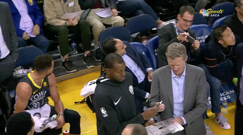 Suns-on-warriors-coaching-teammates