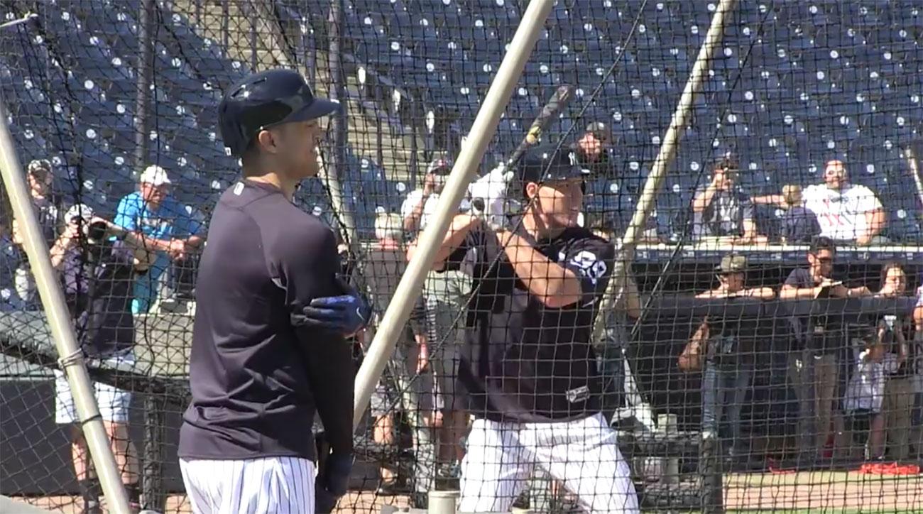Aaron-judge-giancarlo-stanton-yankees-batting-practice