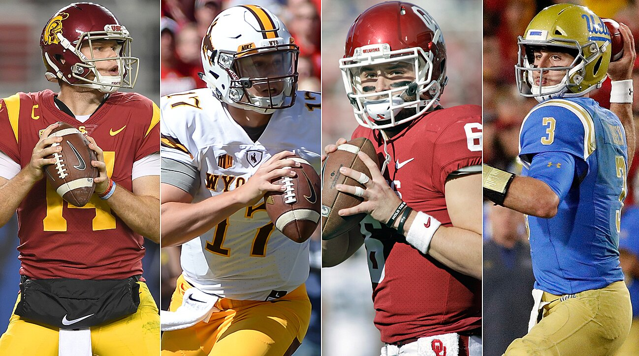 7e8006f1a47 NFL Draft Quarterback Class: The Holes, the Hype and How the Combine  Performances Will Factor