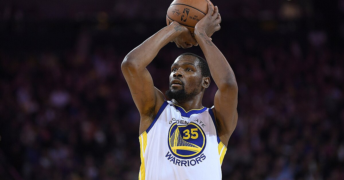 Warriors' Kevin Durant Out Two Weeks With Injury