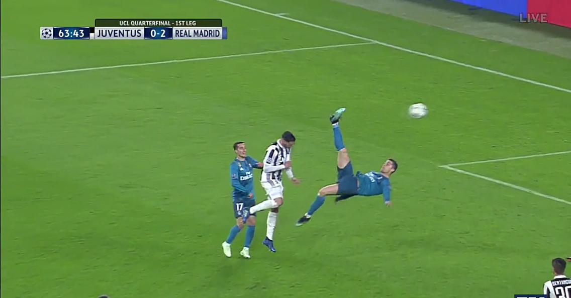 Cristiano Ronaldo Goal Video: Bicycle Kick Vs Juventus
