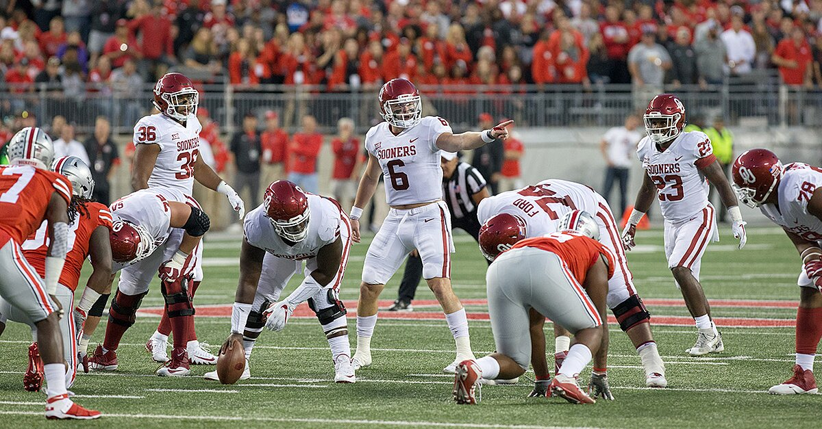 Baker Mayfield Role In Oklahoma Air Raid Offense