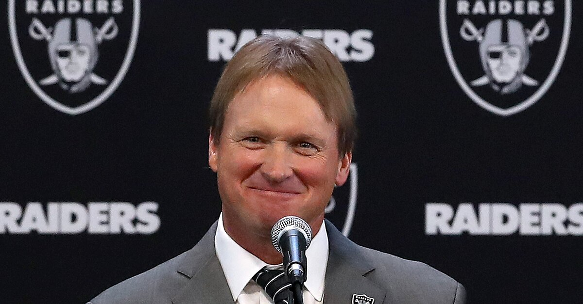 Jon Gruden? Now Here's a Guy Who's Ready To Get Back on a Football Field