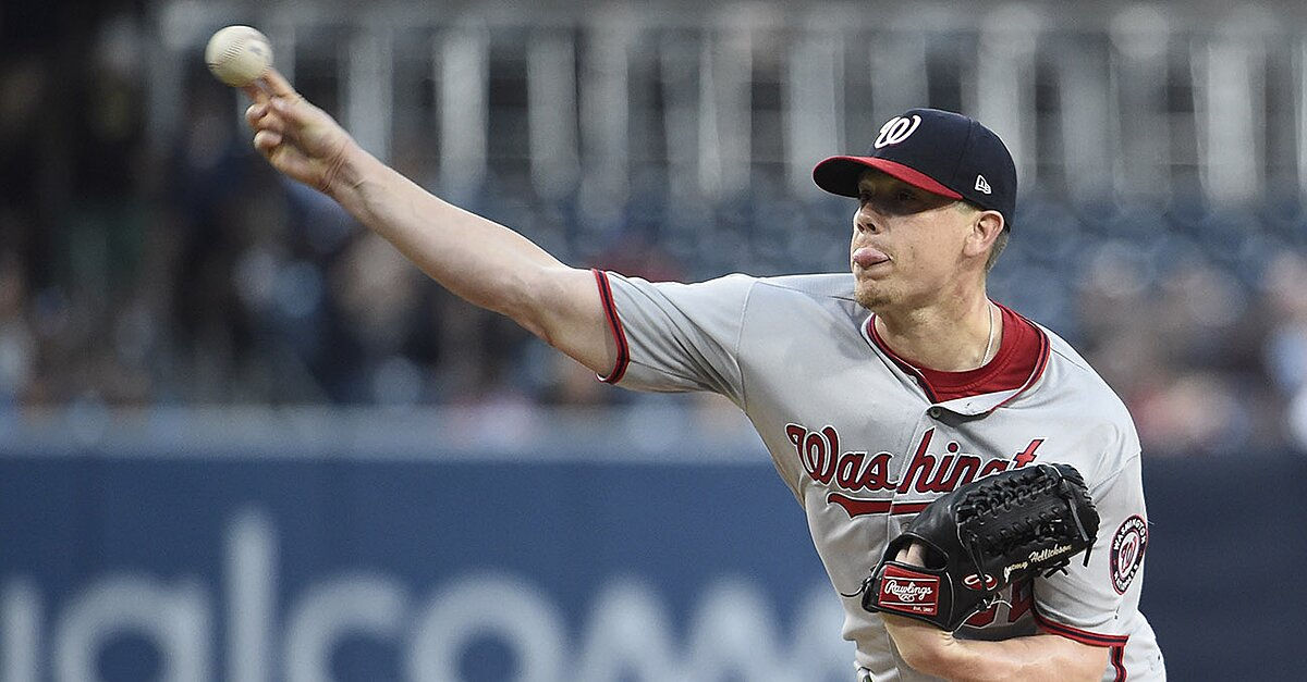 Jeremy Hellickson: Nationals P loses perfect game against Padres | SI.com