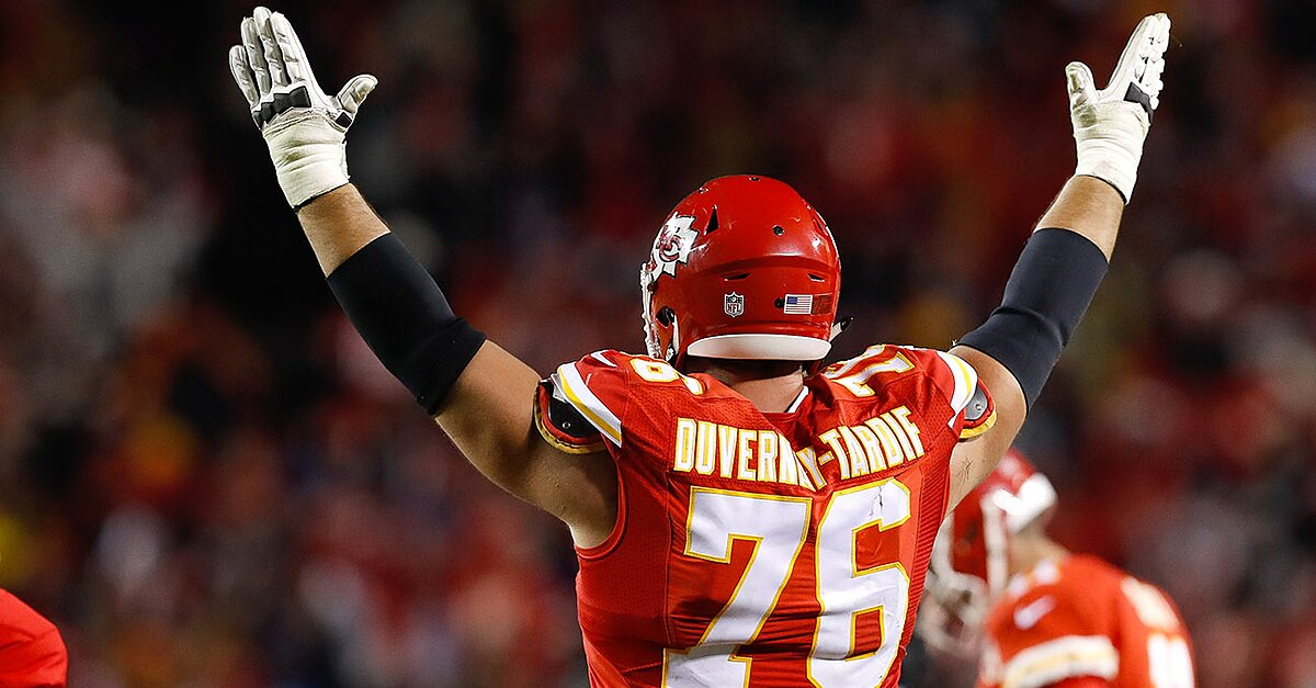 Laurent-Duvernay-Tardif Wants M.D. on his Jersey  fae49bbed