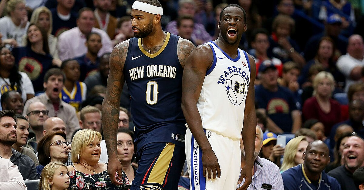2559488e0c8 Competitive balance is one of the most important factors in the health of  the NBA. Golden State Warriors v New Orleans Pelicans. DeMarcus Cousins. ›