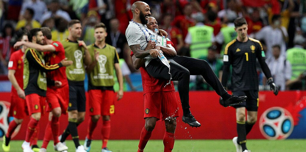 Image result for belgium world cup 2018 thierry henry