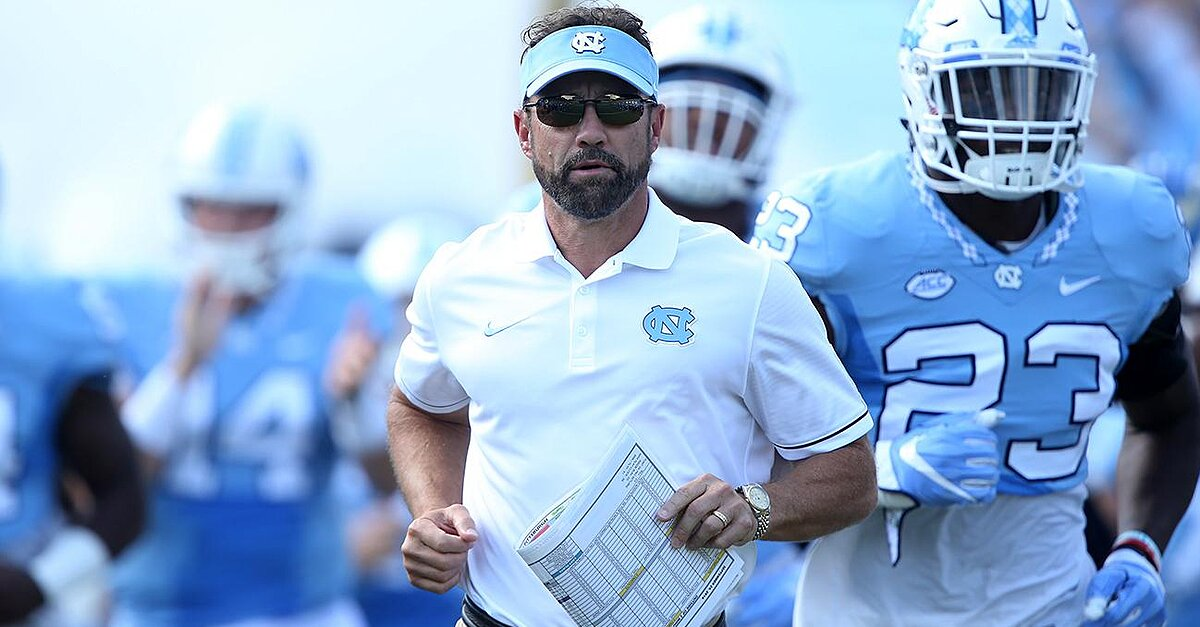 """Larry Fedora says football is """"under attack"""" and could bring down America 