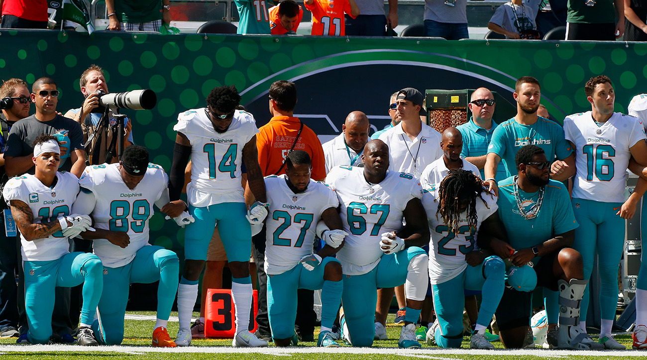 Dolphins-national-anthem-protests