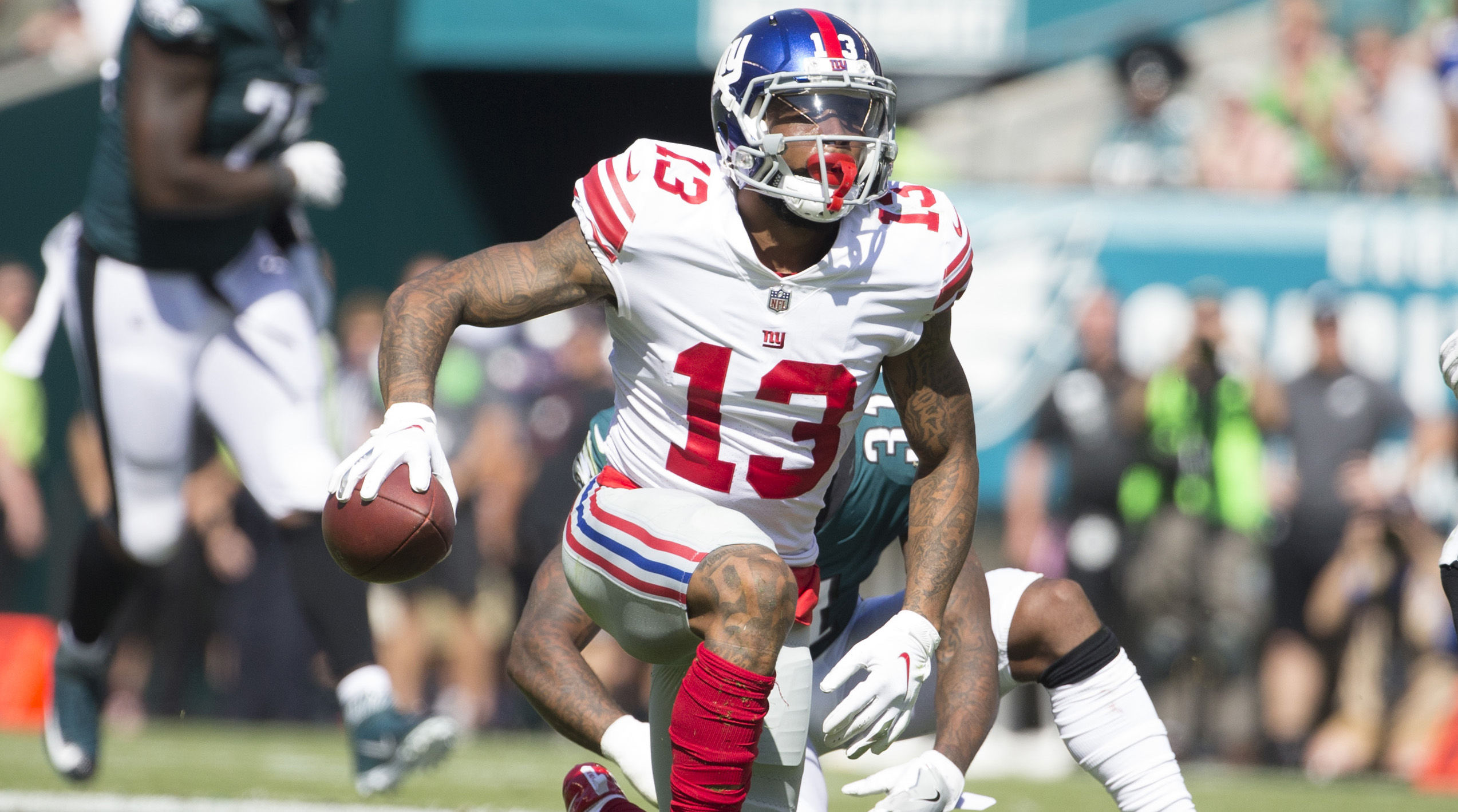 Giants Monday Notes Why this NFL rule change will change the entire sport what Odell Beckham Jr could be thinking and more