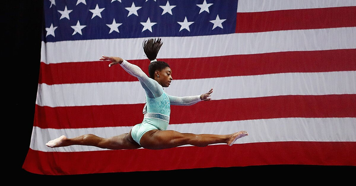Simone Biles Becomes First Woman to Win Five U.S. All-Around Titles, Sweeps U.S. Championships
