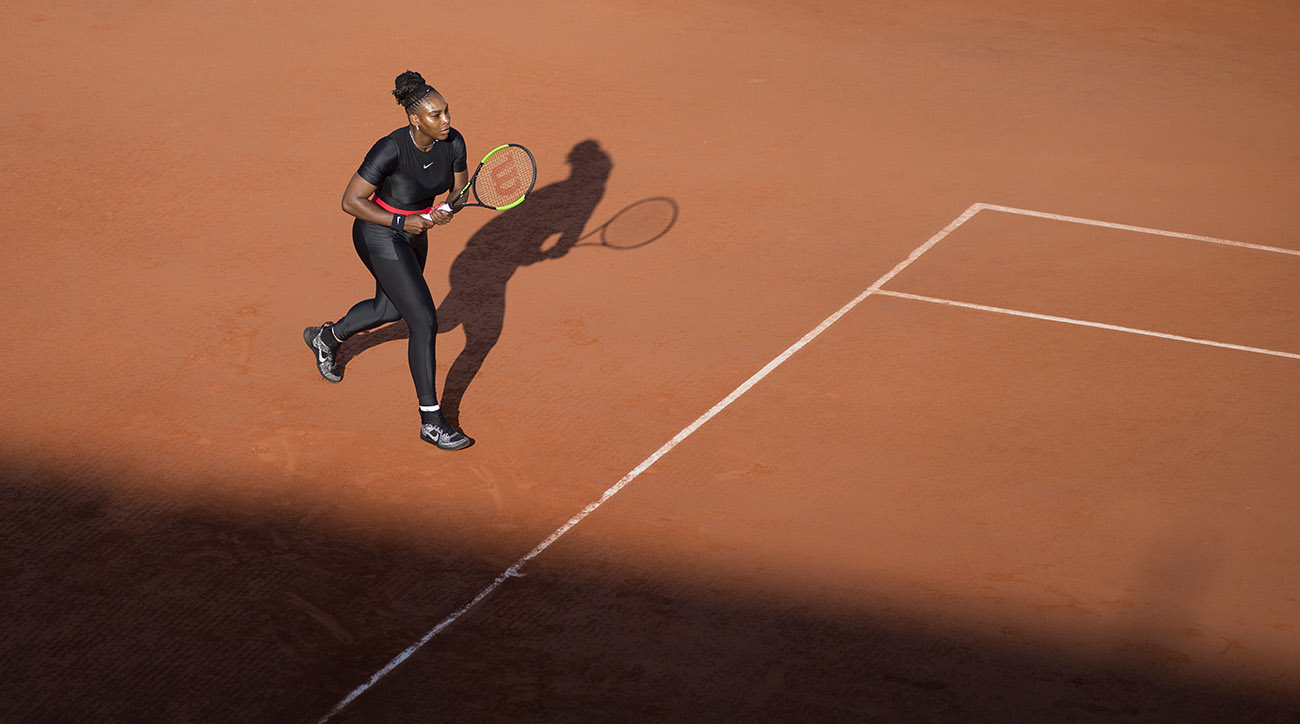 Serena Williams Won't Be Able to Wear Black Catsuit With New French Open Dress Code