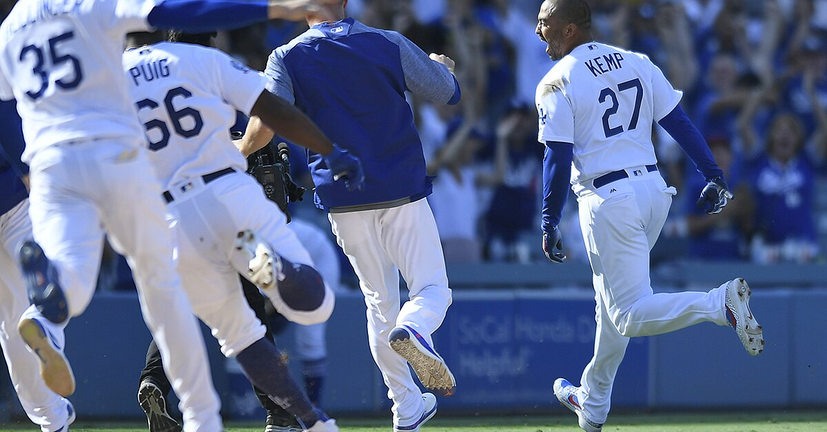 Sports Illustrated Watch Matt Kemp Walk Off Lands Dodgers In First