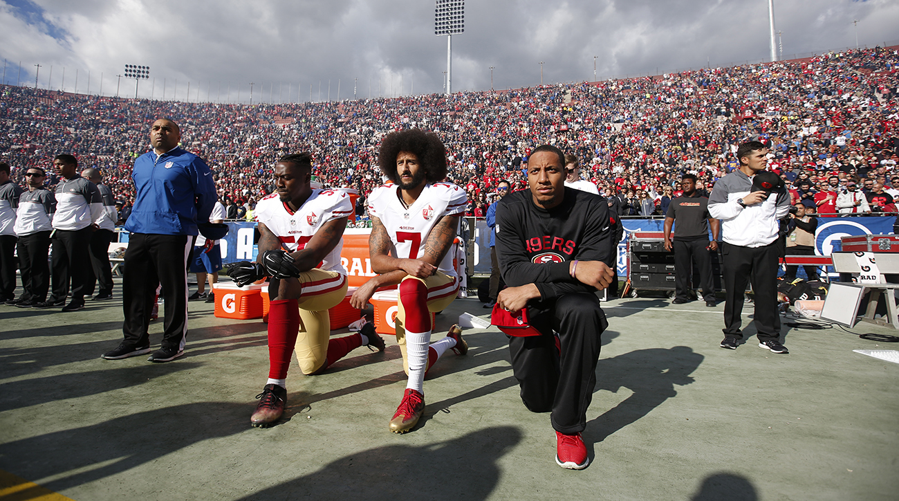 Colin Kaepernick becomes the face of Nike's 30th anniversary 'Just Do It' campaign