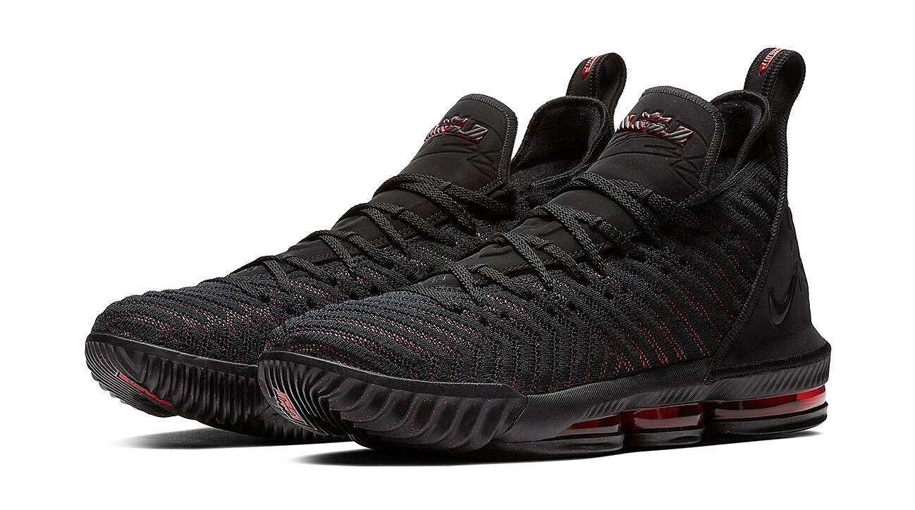 low cost 46fc1 e9dee LeBron 16: Nike unveils LeBron James's newest signature shoe ...